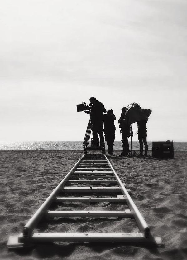 tournage sur la plage de Sète